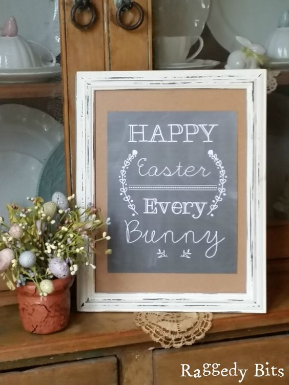 Follow The Yellow Brick Home Beautiful Spring Chalkboard Ideas Easter Chalkboard Ideas