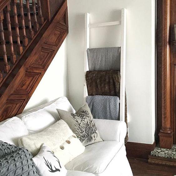 1915 house neutral original woodwork stained trim unpainted woodwork rustic cottage glam staircase