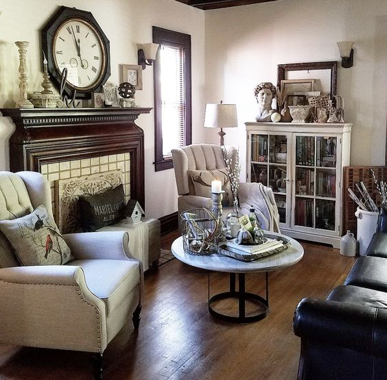 modern farmhouse living room neutral decorating ideas