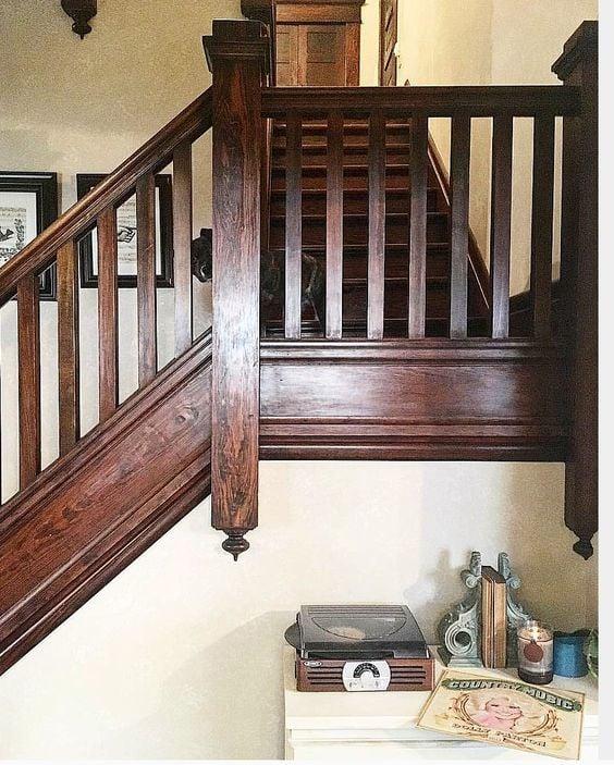 original unpainted wood work stained trim dark woodwork unpainted woodwork trending
