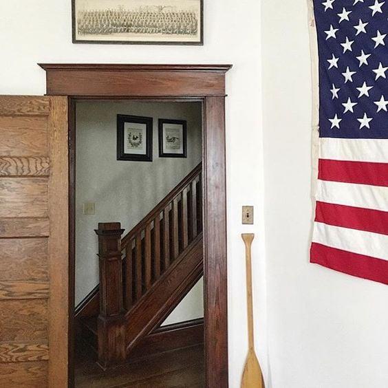 Original unpainted woodwork stained trim unpainted trim dark woodwork homegrown surroundings
