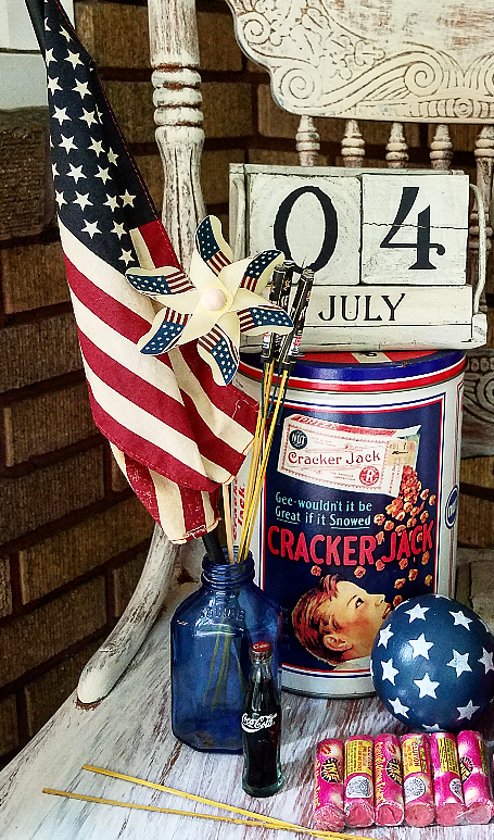 Follow The Yellow Brick Home Patriotic Porch Decor Follow The
