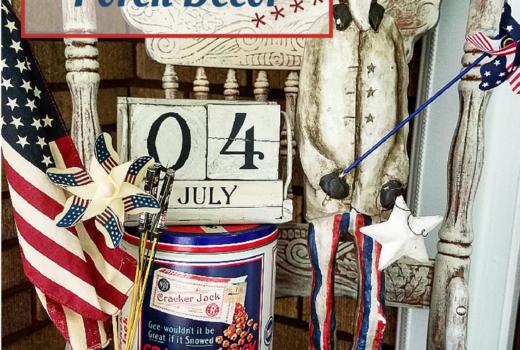 Beautiful Patriotic Porch Decorating Ideas