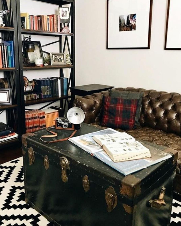 Gorgeous chesterfield sofa plaid pillows traditional style #madforplaiddecor mad for plaid