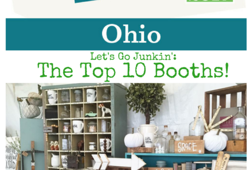The top 10 booths at the Country Living Fair where to shop for vintage junk