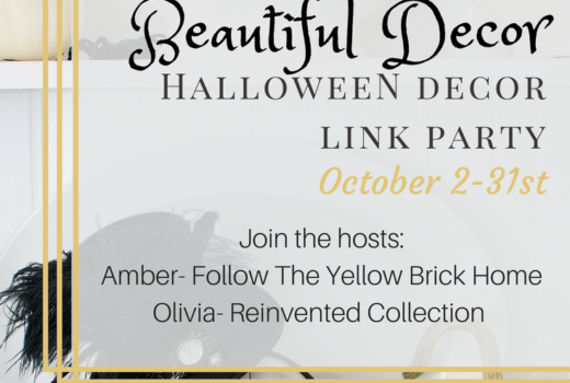 Hauntingly Beautiful Decor Halloween Link Party
