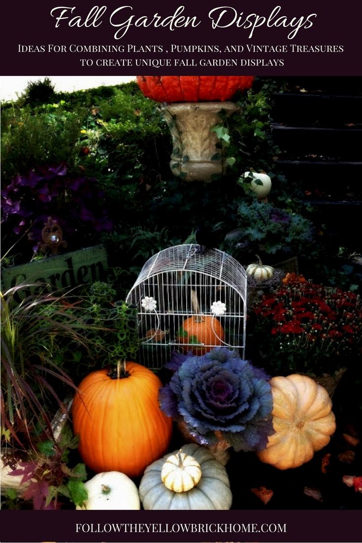 Fall Porch and Garden Ideas