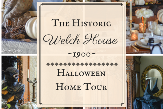 The Welch House 1900 Halloween Home Tour