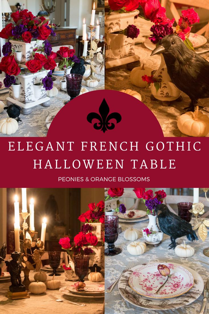 French Gothic Halloween