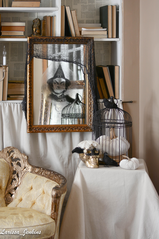 Spooky Halloween Mirror Ideas