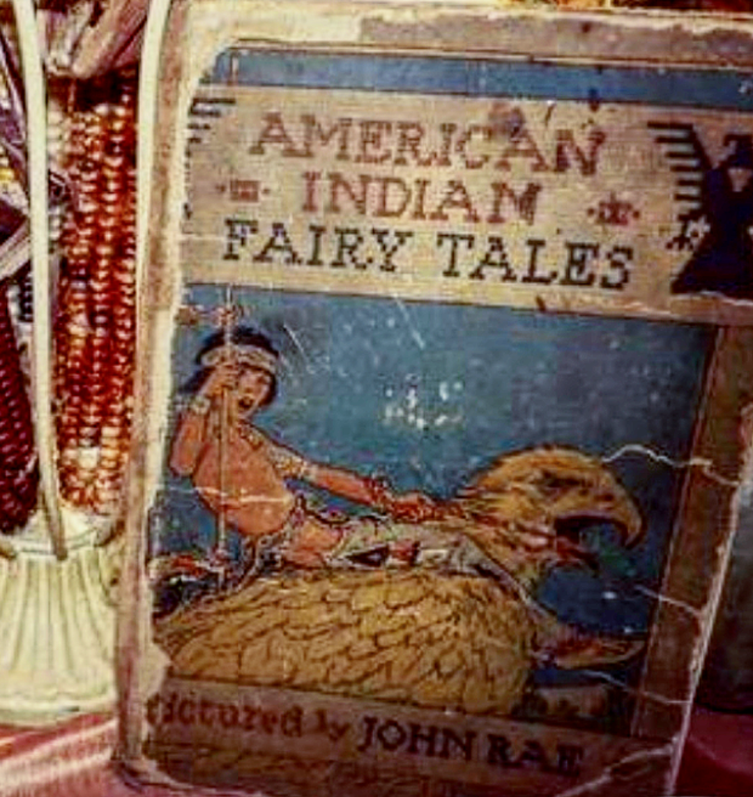 Antique American Indian Book