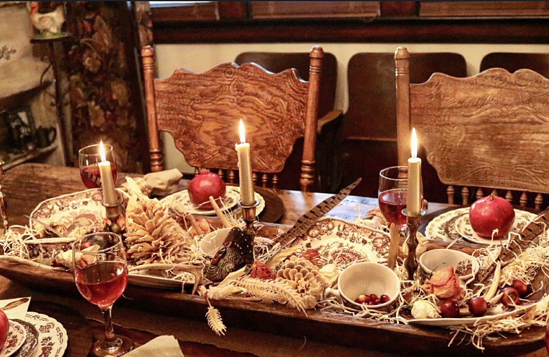 Beautfiul Thanksgiving Tablescape