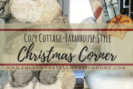 How to create a cozy cottage farmhouse Christmas