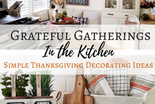 Grateful Gatherings Simple Thanksgiving Decor