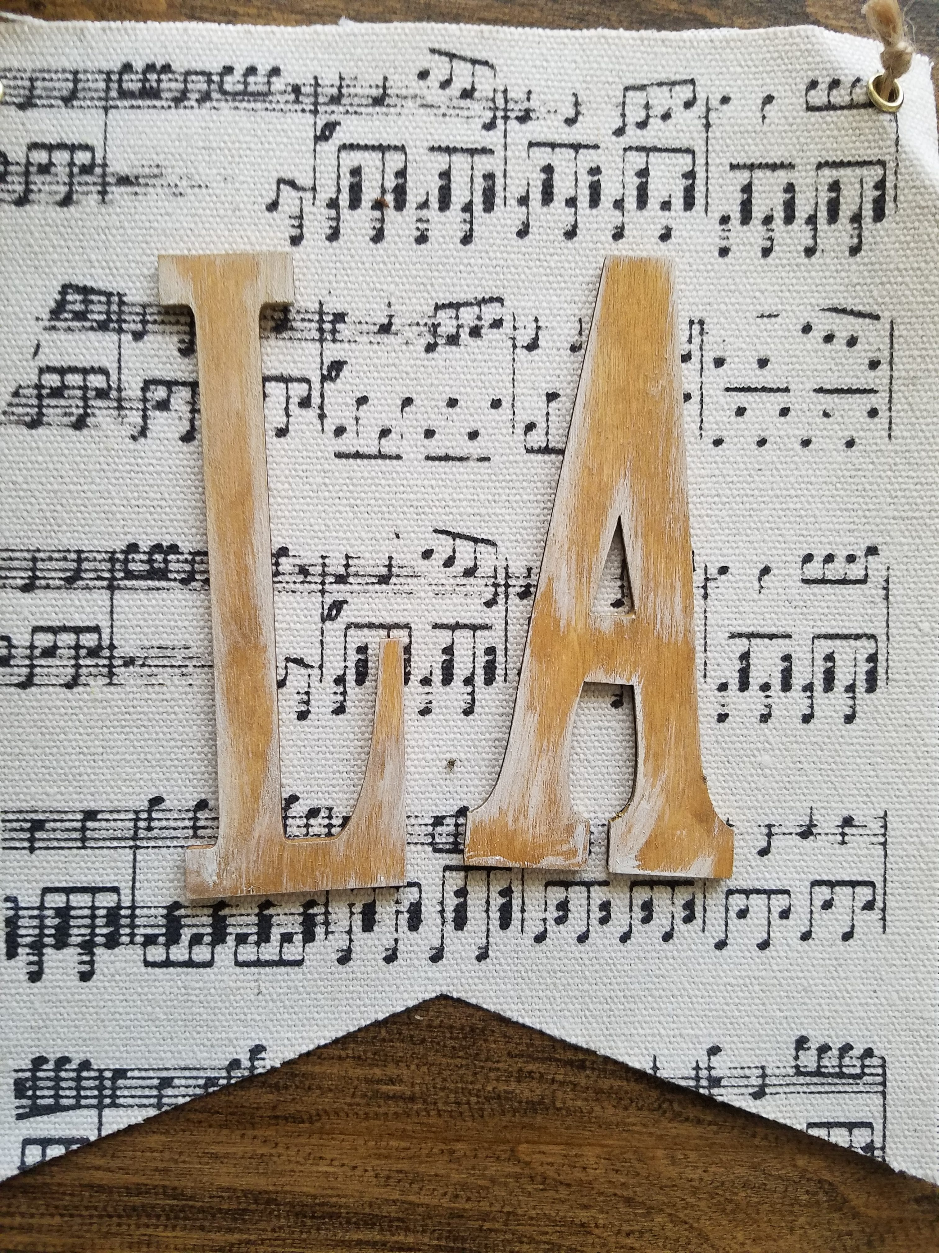 Fa La La La La Christmas Music Banner