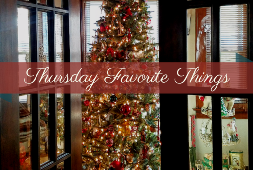 Thursday Favorite Things Blog LInky Party