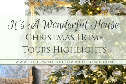Gorgeous homes decorated for Christmas in various styles