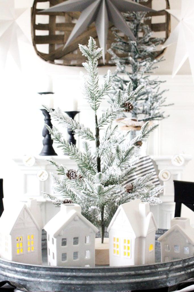 Gorgeous winter decor farmhouse style fixer upper hearth and hand magnolia
