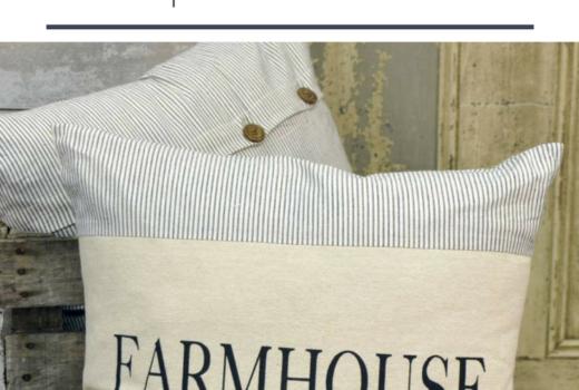 Farmhouse Pillows Shopping Guide 10 Beautiful Farmhouse Pillows