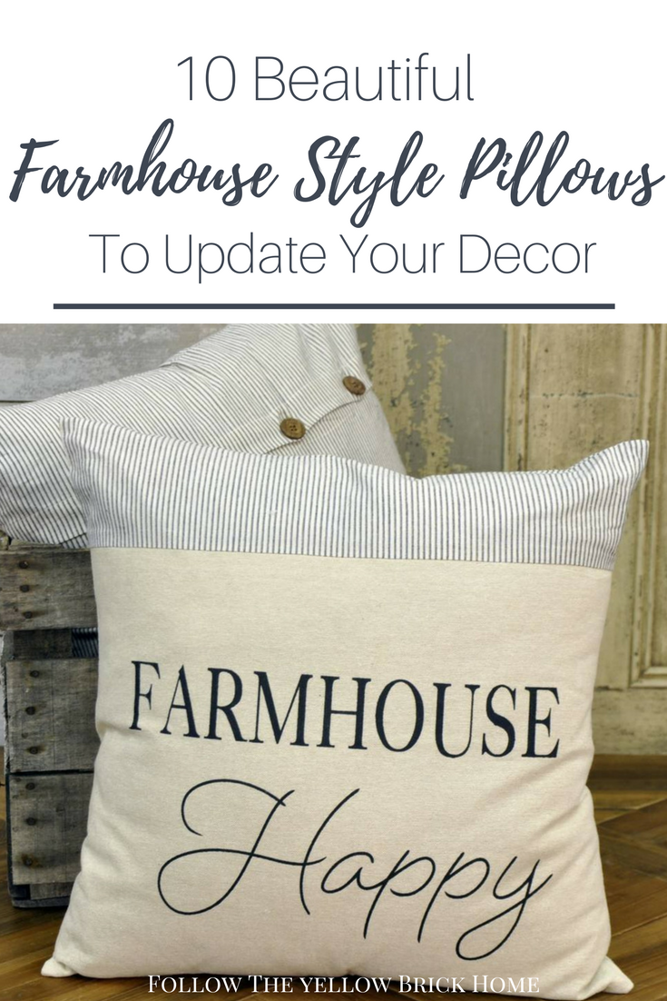 Farmhouse Pillows Shopping Guide 10 Beautiful Farmhouse Pillows