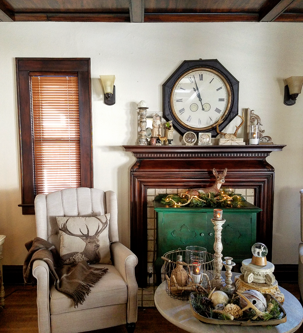 Follow the yellow brick home cozy neutral winter decor for Neutral home decor ideas