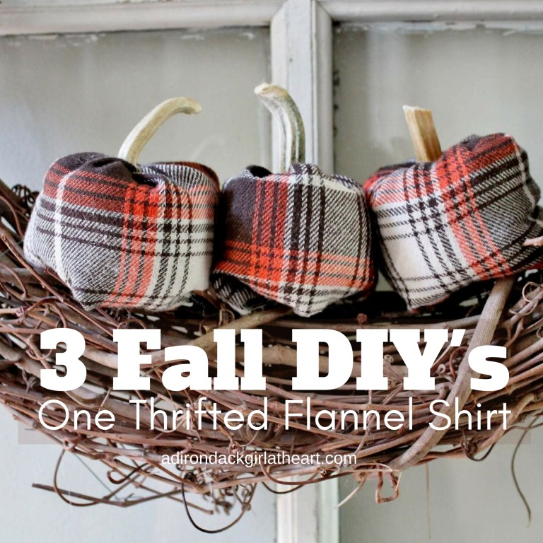 Great ideas for upcycling a flannel shirt