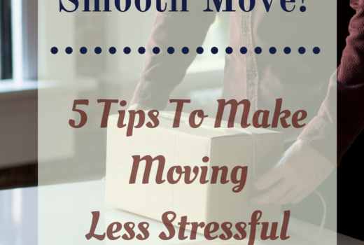 5 Tips To make moving less stresful