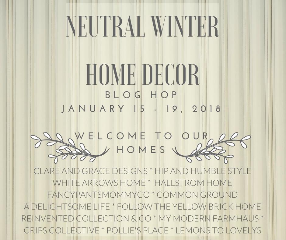 Neutral Winter Blog Hop