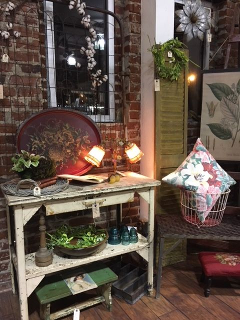 Vintage Market California Beautiful Antiques Booth