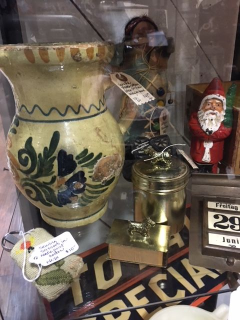 Junkin finds at Vintage Market antiques