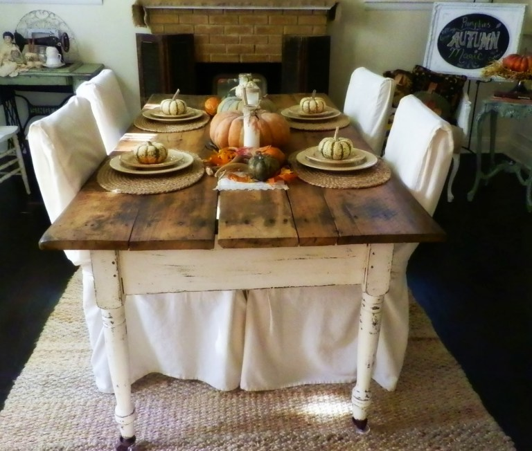 Beatiful $10 antique farm table