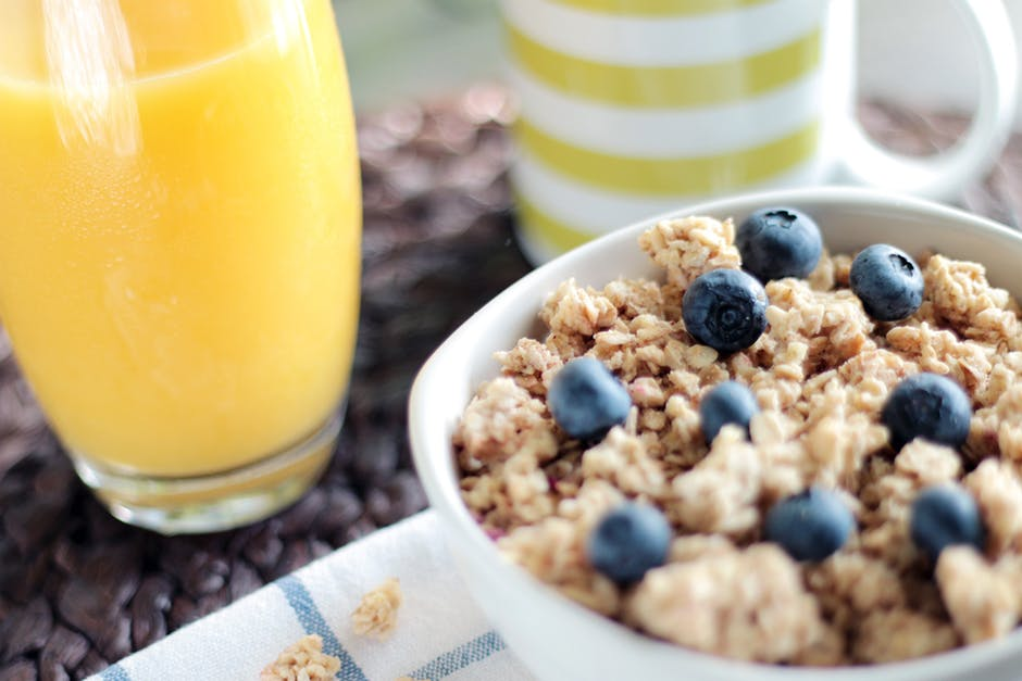Nutritious breakfast moving day tips