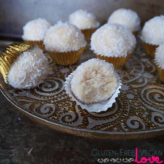 Gluten free vegan snow balls