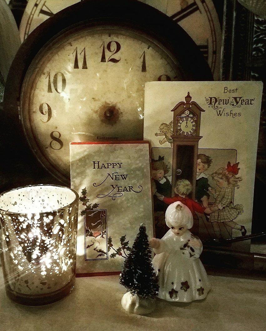 VIntage New Year's Vignette