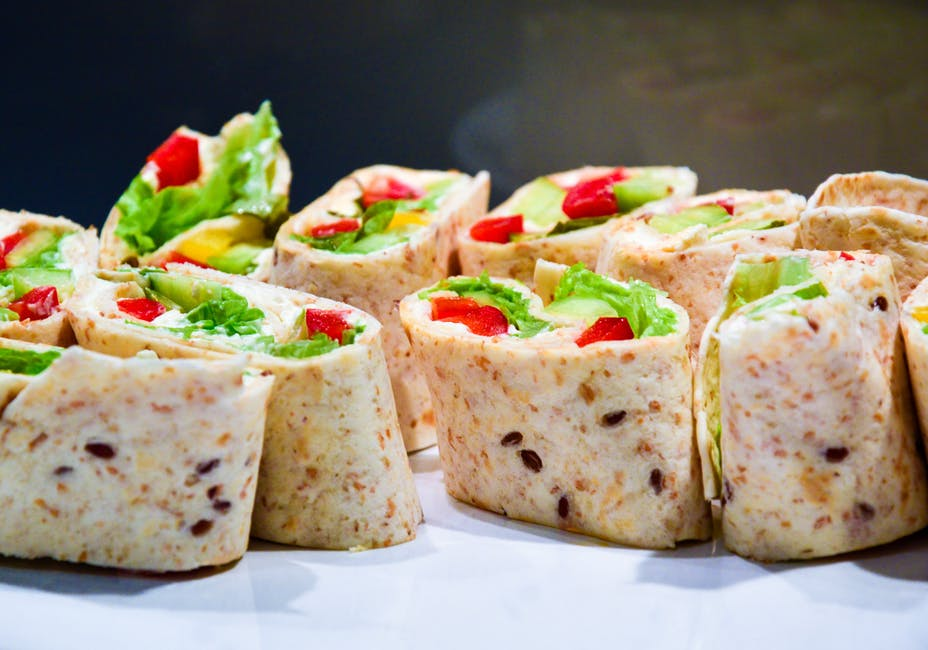 Healthy Veggie Wraps Nutritious Lunch Moving Day Tips