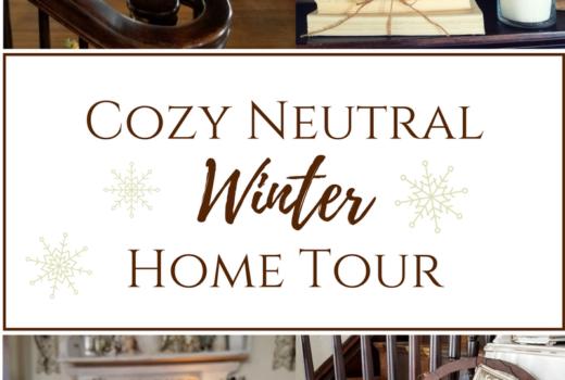 Cozy Neutral Winter Home Tour
