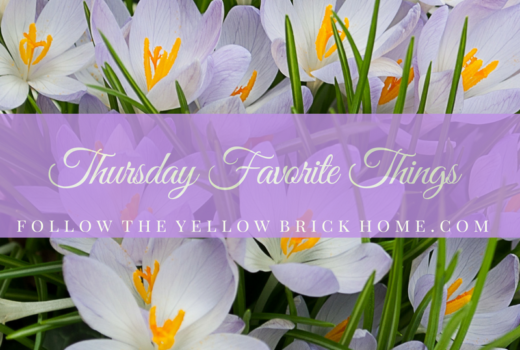 Thursday Favorite Things Blogger's Link party linky party