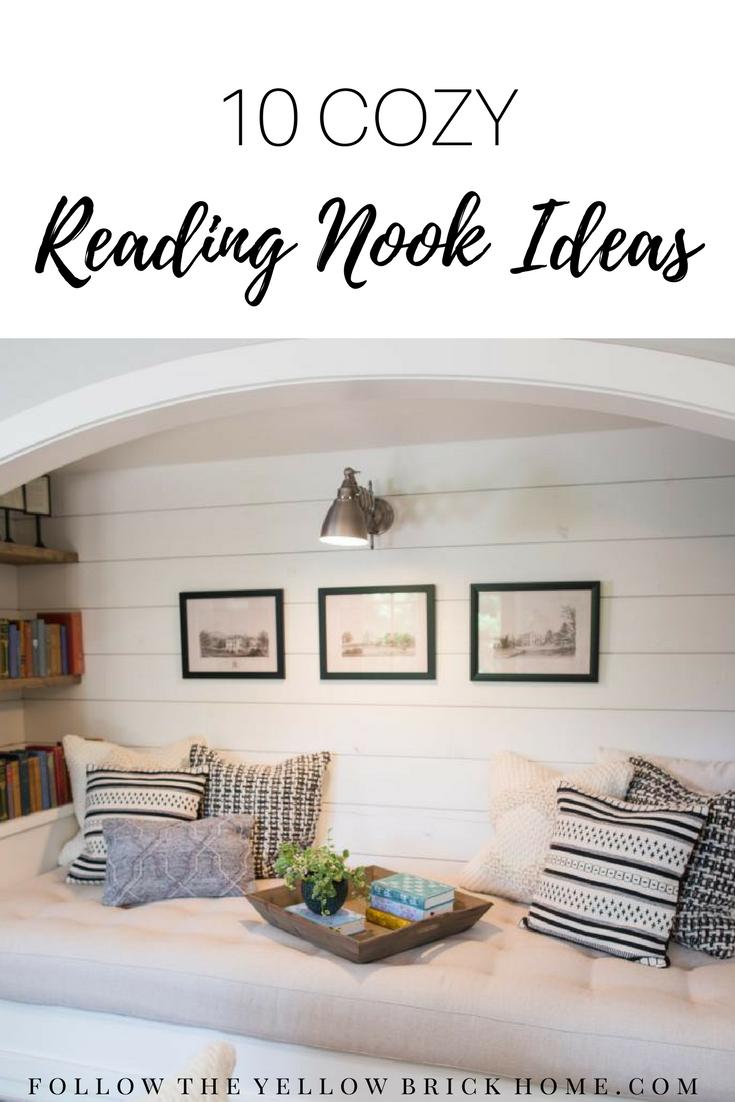 Reading Nooks Book Nooks #readingnook #farmhouse