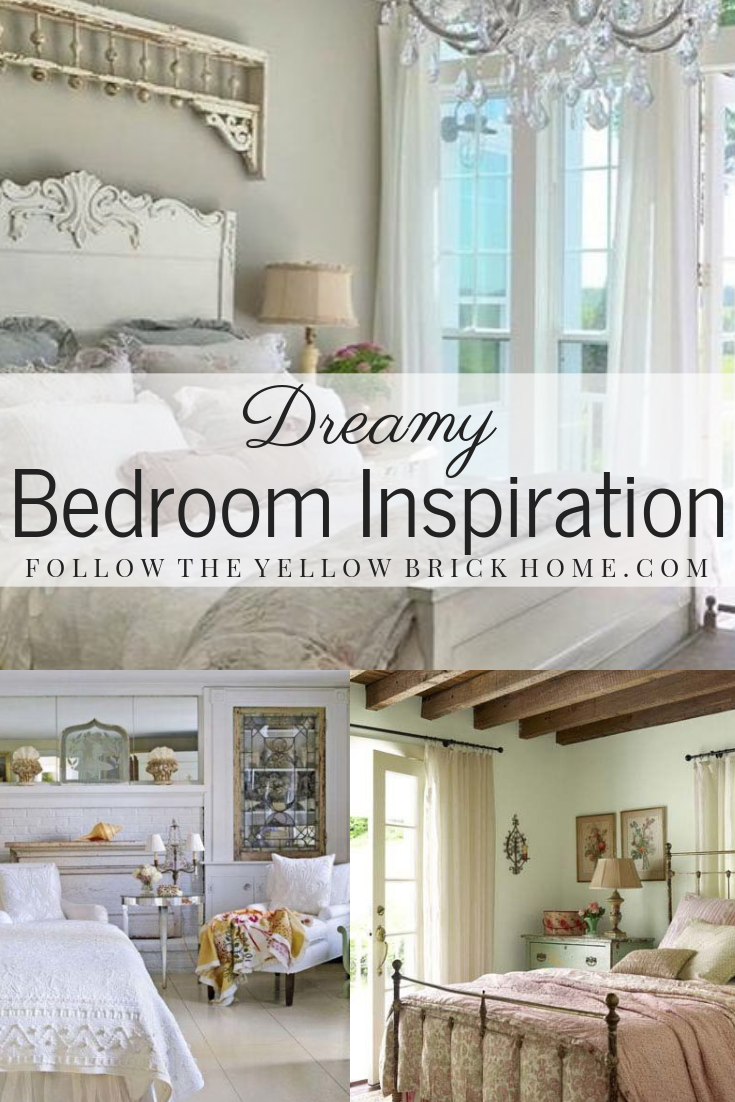 Dreamy Bedroom Inspiration Shabby Chic and Cottage Style Bedrooms