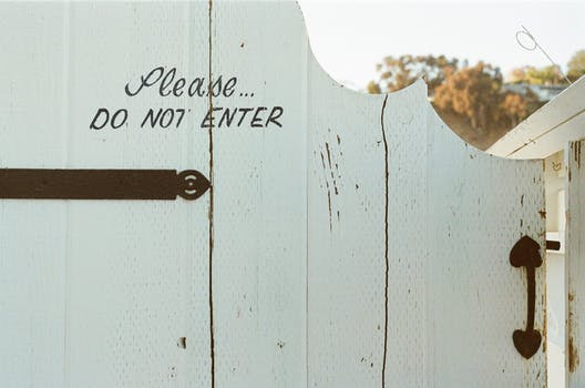Privacy Fence Home Security