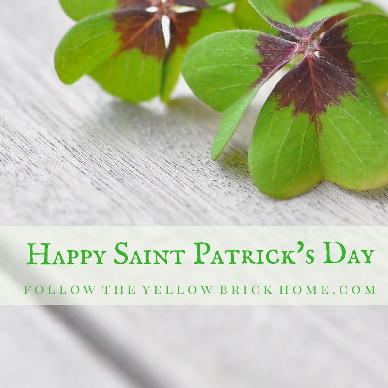 Vintage Saint Patrick's Day Vignette