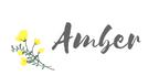 Amber Signature copyright 2018 Amber Ferguson
