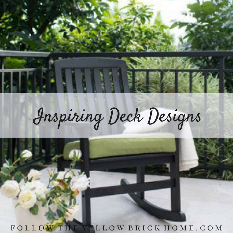Inspiring Deck Designs