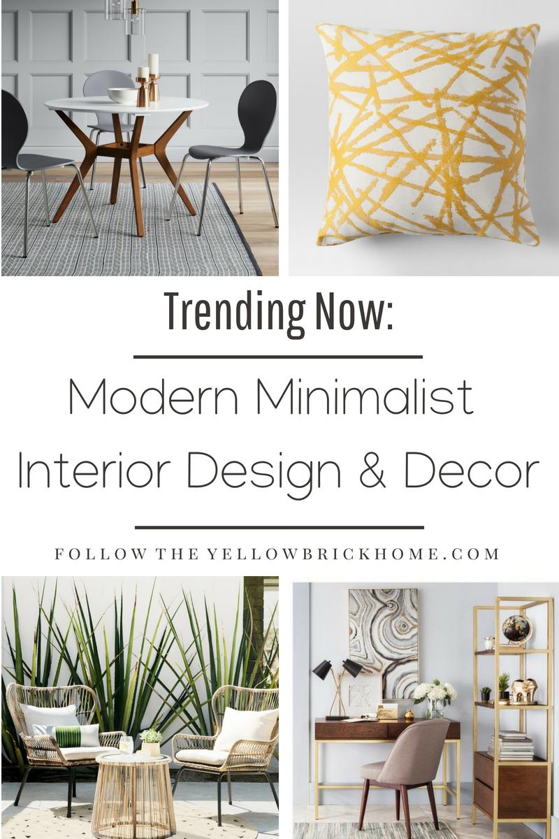 Modern Minimalist Design Decor Ideas Target