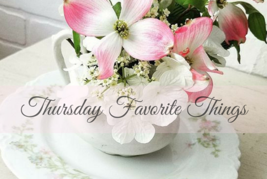 Inspiring Projects And Makeovers at Thursday Favorite Things