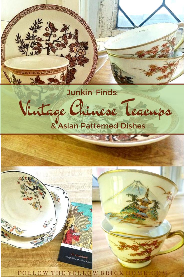 vintage china cups teacups