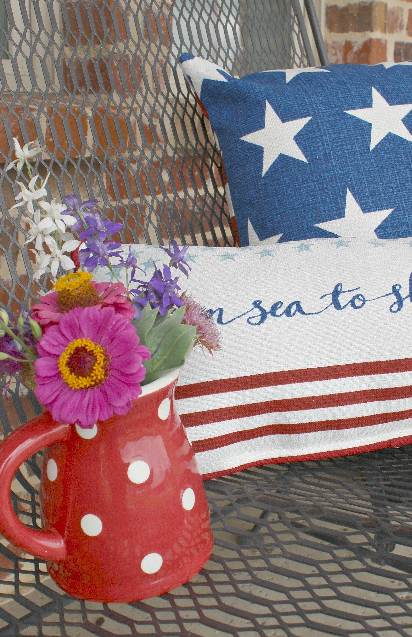 Patriotic Decor Patriotic Porch Ideas