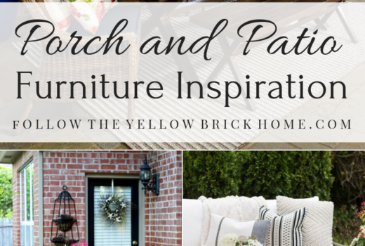 Porch and Patio Furniture Inspiration