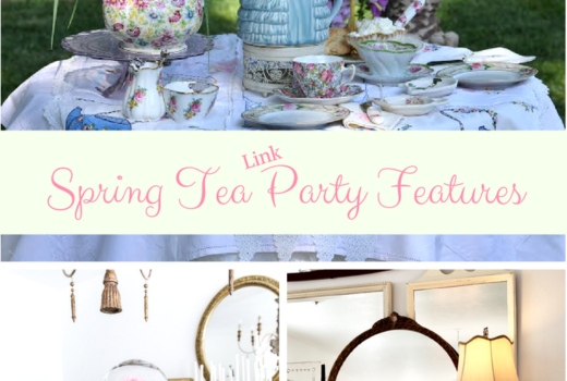 Beautiful Spring and tea party themed decorating ideas from bloggers