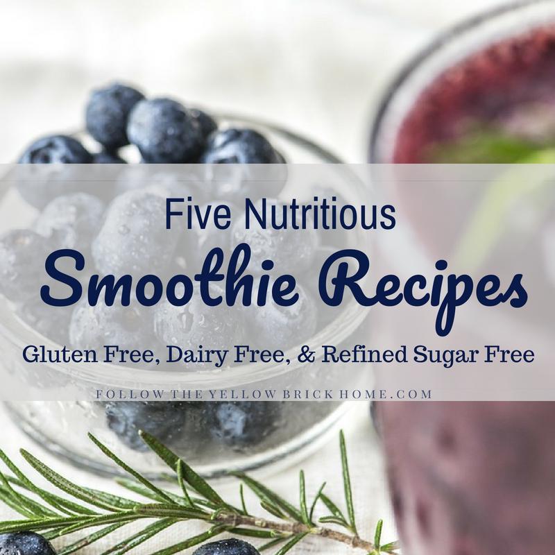 Five Nutritious Smoothie Recipes